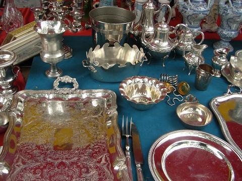 銀食器|ヴァンヴ蚤の市@パリ