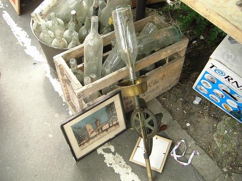 海底から出てきたビン・ボトル|ヴァンヴ蚤の市@パリ