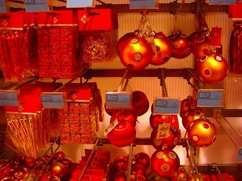 クリスマスデコレーション@パリ・モノプリ